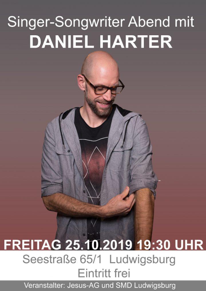 Singer-Songwriter Abend mit Daniel Harter